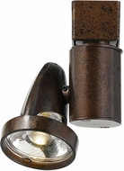 Cal HT-808-RU Contemporary Rust LED Track Light Head