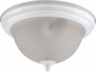 Cal LA-180L-WH White Fluorescent Ceiling Light Fixture
