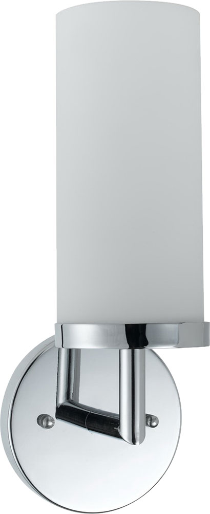 Cal LA-8504-1 Chrome Fluorescent Wall Mounted Lamp - CAL-LA-8504-1