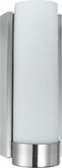 Cal LA-8512 Brushed Steel Fluorescent Wall Light Sconce