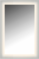 Cal LEM4WG-2436-3K Glowed Contemporary LED 24  Mirror