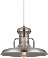 Cal UP-1110-6-BS Winterset Nautical Brushed Steel Hanging Lamp