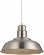 Cal UP-1111-6-BS Ashland Modern Brushed Steel Pendant Lighting Fixture