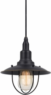Cal UP-1113-6-DB Allentown Nautical Dark Bronze Mini Hanging Pendant Lighting