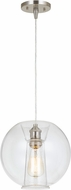 Cal UP-3636-1P Chimay Contemporary Glass Mini Drop Lighting