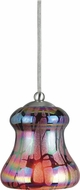 Cal UP-982A-6-BS Uni-Pack Contemporary Brushed Steel Multicolored Mini Ceiling Light Pendant
