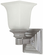 Capital Lighting 1061MN-142 Matte Nickel Lighting Sconce