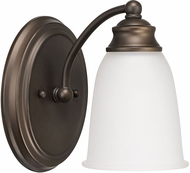 Capital Lighting 1081BB-132 Capital Vanities Burnished Bronze Wall Lamp