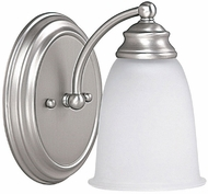 Capital Lighting 1081MN-132 Matte Nickel Wall Light Fixture