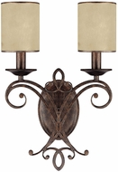 Capital Lighting 1116RT-510 Reserve Traditional Rustic Wall Lighting Sconce