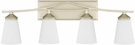 Capital Lighting 112341SF-324 Boden Contemporary Soft Gold 4-Light Bathroom Sconce