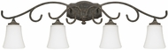 Capital Lighting 117741FG-303 Everleigh French Greige 4-Light Bathroom Light