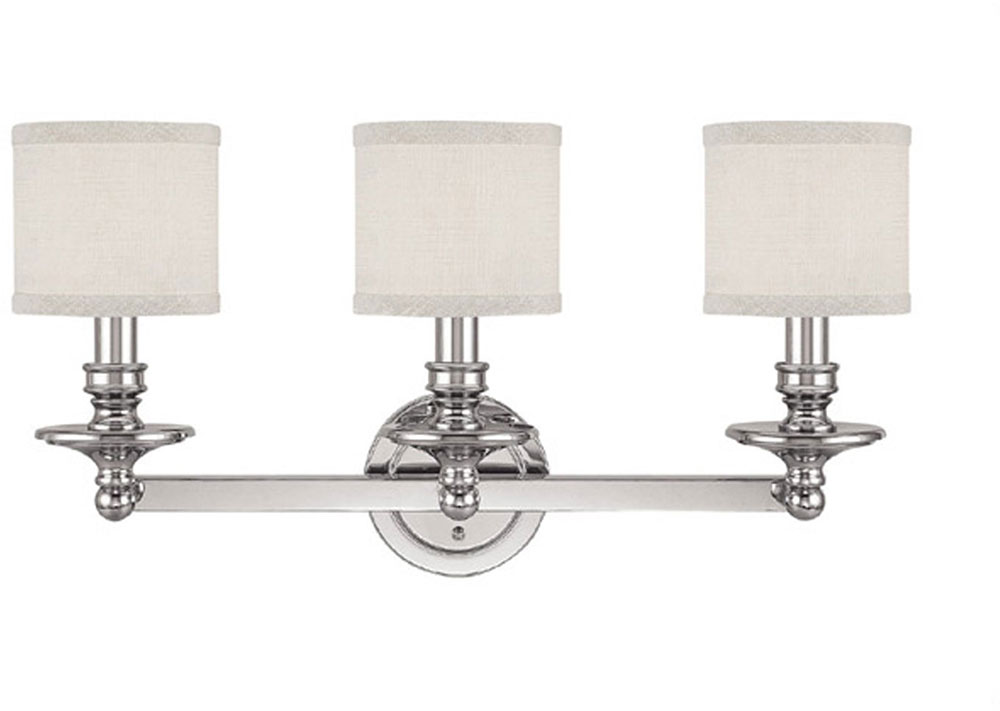 Capital Lighting 1238PN-451 Midtown Polished Nickel 3-Light Bath ...