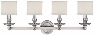 Capital Lighting 1239MN-451 Midtown Matte Nickel 4-Light Bathroom Vanity Lighting