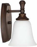 Capital Lighting 1331BB-242 Belmont Burnished Bronze Lighting Sconce
