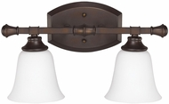 Capital Lighting 1332BB-242 Belmont Burnished Bronze 2-Light Bathroom Sconce