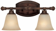 Capital Lighting 1332BB-287 Belmont Burnished Bronze 2-Light Bath Sconce