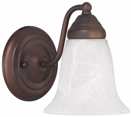 Capital Lighting 1361BB-117 Burnished Bronze Wall Sconce Lighting