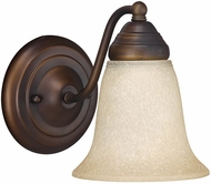 Capital Lighting 1361BB-297 Burnished Bronze Wall Light Fixture