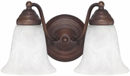 Capital Lighting 1362BB-117 Burnished Bronze 2-Light Bath Wall Sconce