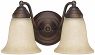 Capital Lighting 1362BB-297 Burnished Bronze 2-Light Bathroom Light Sconce