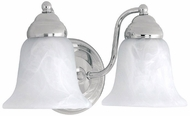 Capital Lighting 1362CH-117 Chrome 2-Light Bathroom Lighting Sconce