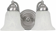 Capital Lighting 1362MN-117 Matte Nickel 2-Light Bathroom Sconce Lighting