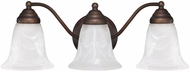 Capital Lighting 1363BB-117 Burnished Bronze 3-Light Bath Lighting Sconce