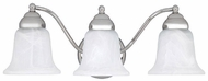 Capital Lighting 1363CH-117 Chrome 3-Light Bathroom Lighting