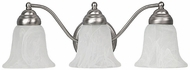 Capital Lighting 1363MN-117 Matte Nickel 3-Light Lighting For Bathroom