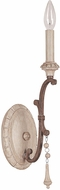 Capital Lighting 1606FO Chateau Traditional French Oak Wall Mounted Lamp