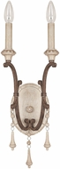 Capital Lighting 1607FO Chateau Traditional French Oak Wall Light Sconce