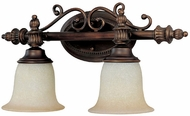 Capital Lighting 1702BB-291 Burnished Bronze 2-Light Bath Lighting Fixture