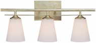 Capital Lighting 1738WG-122 Soho Winter Gold 3-Light Vanity Light Fixture