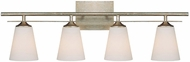 Capital Lighting 1739WG-122 Soho Winter Gold 4-Light Bathroom Vanity Light Fixture