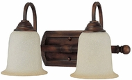 Capital Lighting 1792BB-293 Metro Burnished Bronze 2-Light Bath Wall Sconce