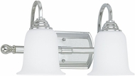 Capital Lighting 1792CH-219 Chrome 2-Light Bathroom Light Sconce