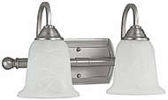 Capital Lighting 1792MN-223 Metro Matte Nickel 2-Light Bathroom Lighting Sconce