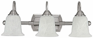 Capital Lighting 1793MN-223 Metro Matte Nickel 3-Light Bathroom Wall Light Fixture