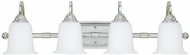 Capital Lighting 1794CH-219 Chrome 4-Light Lighting For Bathroom