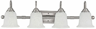 Capital Lighting 1794MN-223 Metro Matte Nickel 4-Light Bath Lighting