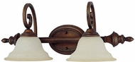 Capital Lighting 1802BB-292 Chandler Burnished Bronze 2-Light Bathroom Light