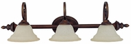 Capital Lighting 1803BB-292 Chandler Burnished Bronze 3-Light Vanity Lighting