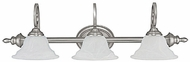 Capital Lighting 1803MN-222 Chandler Matte Nickel 3-Light Vanity Light