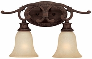 Capital Lighting 1882BB-252 Hill House Burnished Bronze 2-Light Bathroom Light Fixture