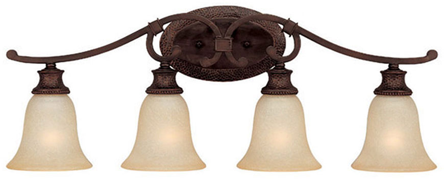 Talista 4 Light Antique Bronze Bath Vanity Light With: Capital Lighting 1884BB-252 Hill House Burnished Bronze 4