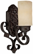 Capital Lighting 1906RI-125 River Crest Traditional Rustic Iron Wall Lighting Fixture