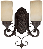 Capital Lighting 1907RI-125 River Crest Traditional Rustic Iron Wall Light Sconce
