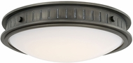 Capital Lighting 213211GM-LD Nash Vintage Gunmetal LED Ceiling Light Fixture