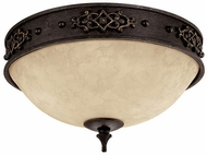 Capital Lighting 2283RI River Crest Traditional Rustic Iron Ceiling Light Fixture